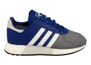 adidas Originals Turnschuhe Marathon Tech - Blau / Weiß / Grau, Größe:44