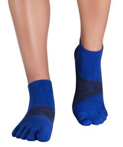 Knitido MTS Ultralite Lauf-Zehensocken, Größe:43-46, Farbe:blau / navy (223)