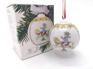 Porzellankugel Weihnachtskugel 1988 - Hutschenreuther - in