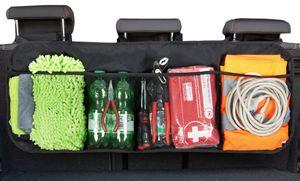 Auto Kofferraumtasche / Organizer, universal, 89x35 cm, schwarz, platzsparend