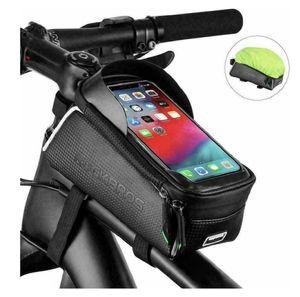 ROCKBROS Fahrrad Rahmentasche Fahrradtasche Oberrohrtasche für 6,5'' Handys