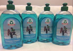 Frosch Spülmittel  4 x 500 ml ohne Mikroplastik