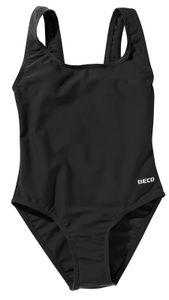 BECO Mädchen Kinder Badeanzug Schwimmanzug Einteiler Größe 176 schwarz