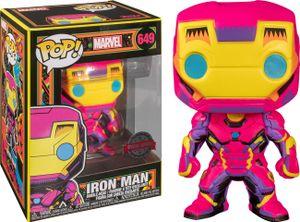 Funko Marvel Iron Man POP! Black Light Figur 9 cm FK48846
