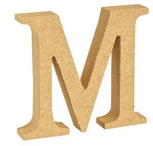 "VBS MDF Buchstabe Buchstabe ""M"""