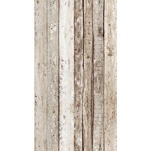 "A.S. Création selbstklebendes Panel ""pop.up Panel"", beige, braun, 2,50 m x 0,35 m, 942192, 94219-2"