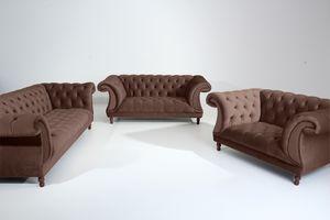 Max Winzer Ivette Sessel - Farbe: braun - Maße: 167 cm x 100 cm x 80 cm; 2994-1100-2044201-F07