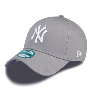 New Era Cap 9FORTY League Basic NY Yankees Grey/White , Cap:OSFA