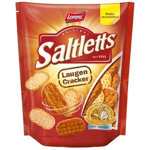 Lorenz Saltletts Laugencracker Laugengebäck Meersalz 150g 12er Pack