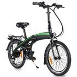 Huicheng Klapprad E-Bike, 7 Gang Shimano, Kettenschaltung, 250,00 W,  Elektrofahrrad, Heckmotor, 7.5AH Li-Ion-Akku