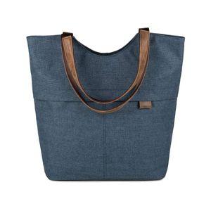 ZWEI Shopper Olli OT15  Umhängetasche Schultertasche Handtasche in vielen Farben, Farbe:blue / blau