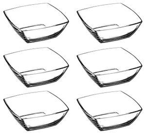 Pasabahce Tokio 53056 6er Set Glasschalen Schalen Glasschale Dessertschale Glas