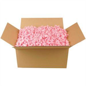 Verpackungschips Rosa - 70 Liter / Füllmaterial und Packpolster optimal für Paketversand