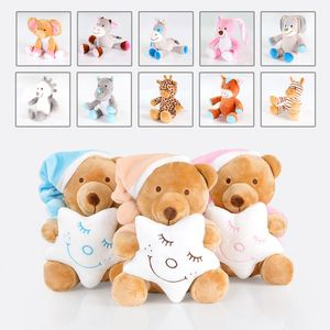 Kuscheltier Plüschtier Teddybär Babyspielzeug Spielzeug verschiedene Motive, Model:Giraffe