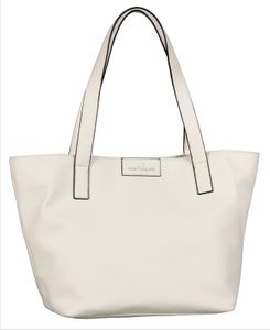 Tom Tailor MIRI Damen ZIP Shopper Größe L 24400-12 white