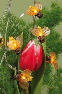 LED - Solar-Lichterkette mit Bienen