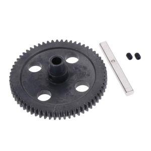 Metall Motorrad Getriebe Ritzel Zubehör für Wltoys 12428 12423 12429 12628 1/12 RC Auto