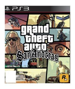PS3 GTA San Andreas HD PEGI UK MULTI