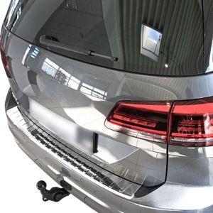 LADEKANTENSCHUTZ Edelstahl V2A Leiste Schutz für VW Golf Sportsvan ab 2014-