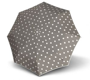 Knirps T.200 Medium Duomatic Dot Art Taupe