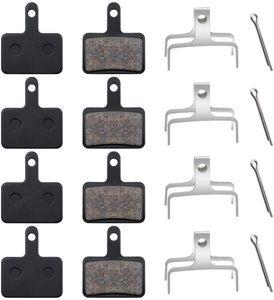 4 Paar  B01S Fahrrad bremsbeläge/Scheibenbremsbeläge Fahrradbremsen Schwarz Scheibenbremse Fahrrad Bike Beläge Brake Pads für  M315, M355, M515, M515-LA-M, M525. Nexave C501, C601 usw