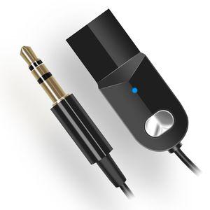 C002 Wireless USB Bluetooth 5,0 Audio Adapter Receiver Stereo 3,5mm AUX Jack Lautsprecher Kopfhörer Musik Rezeptor Freisprecheinrichtung Auto Dongle