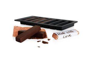 Boska Choco Riegel Starter Set / perfekt als Geschenk / eigene Schokolade machen / Silikone / Schwarz