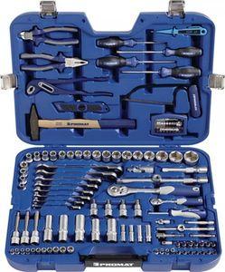 PROMAT Steckschlüssel-/Handwerkzeugkoffer 131-tlg.m.Ring-Ratschenschlüsseln PROMAT