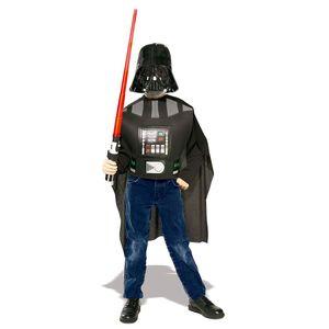 """Kinder Star Wars """"Darth Vader"""" Kostüm-Set (Brustpanzer mit Umhang, Maske und Schwert)"""