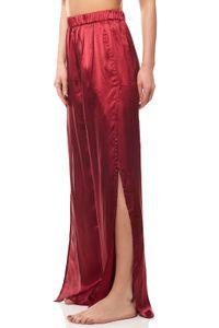 Tamaris Palazzohose Damen-Hose Stoffhose Rot, Größe:40