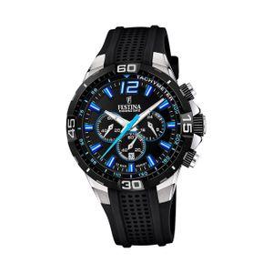 Festina Silikon Herren Uhr F20523/4 Armbanduhr schwarz Chrono Bike D2UF20523/4