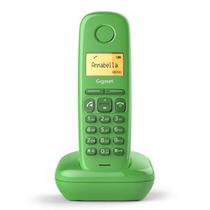 GIGASET A 270 grün Schnurloses Telefon Eco DECT Hörgeräte kompatibel