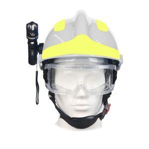 F2 Emergency Rescue Helmet Feuerwehr-Schutzhelme Arbeitsschutzhelm Schutzhelm Hitzeschutzhelm