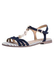 Tamaris Damen Sandale blau 1-1-28171-36 weit Größe: 39 EU