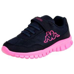 Kappa Mädchen Sneaker Follow BC K Schuhe blau/pink, Schuhgröße:32 EU