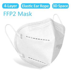 100x Atemschutzmaske Maske FFP2 Atemschutzmaske Maske FFP2 ≥ 94\\% Atemschutz Mundmaske Hygienemaske Maske, 100 PCS Maske