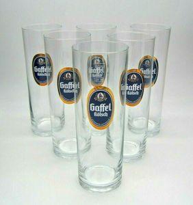 Gaffel Kölsch Biergläser Set - 6 x 0,3L ohne Goldrand
