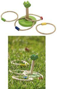 Ringwurfspiel Frosch Spiel Holz Kinderspielzeug Wurfspiel Outdoor Spielzeug