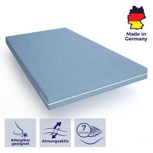 Ergonomische Matratzen 140x190 für erholsamen Schlaf - angenehme Komfortschaummatratze