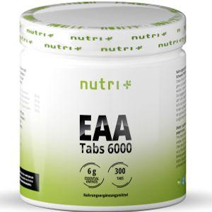 nutri+ vegane EAA Tabs 6000, 300 Tabletten Dose