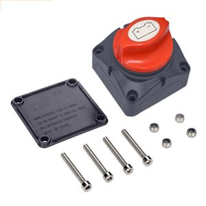 12V/ 24V/ 48V Batterie Trennschalter Hauptschalter Auto Batterie Trennschalter Hauptschalter Not Aus Poltrenner Schalter 300A