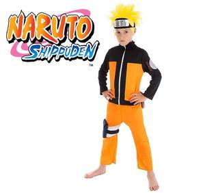 Kinder Kostüm Naruto Shippuden Ninja Anime, Größe:140