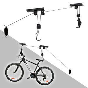 Fahrradlift Deckenhalter 20kg Fahrradgarage Halterung Fahrradhalter Seilzug