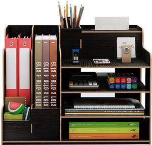 MECO Schreibtisch Organizer Stiftehalter Schreibtischbox Desktop Aufbewahrungsbox Stifthalter, Typ B