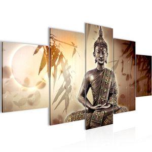 Buddha BILD :200x100 cm − FOTOGRAFIE AUF VLIES LEINWANDBILD XXL DEKORATION WANDBILDER MODERN KUNSTDRUCK MEHRTEILIG