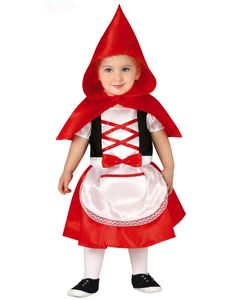 Fiestas Guirca dress up Rotkäppchen Größe 12-24 Monate
