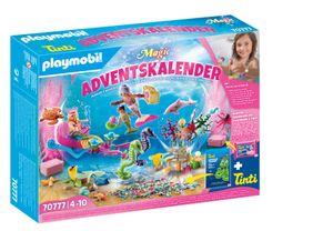 """PLAYMOBIL Weihnachten 70777 Adventskalender """"Badespaß Meerjungfrauen"""""""