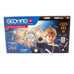Geomag Classic Silber XL Set 168 teilig Magnetspielzeug