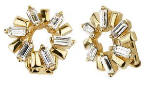 Traveller - Ohrclip - Swarovski crystals - 22ct vergoldet - 157442