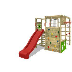 Spielturm FATMOOSE ActionArena Air XXL Garten Kinder Kletterturm Stelzenhaus